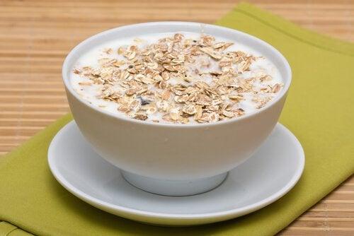 kauramaidon hyödyt aamiaisella