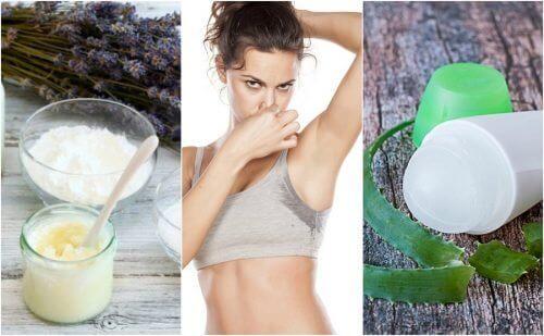 5 luonnollista deodoranttia hienhajuun