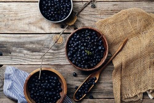 mustikka on terveellistä