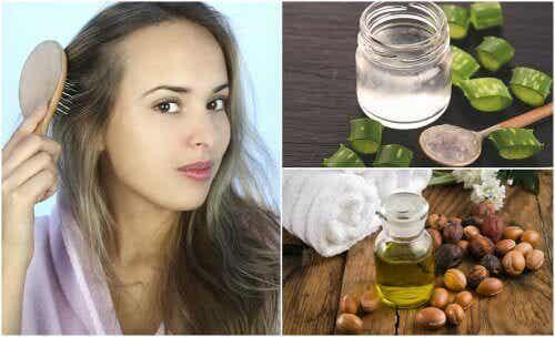 Ohenevat hiukset - 5 luontaishoitoa