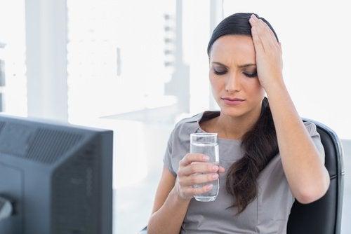 liian vähäinen vedenjuonti aivoille haitallista tapaa