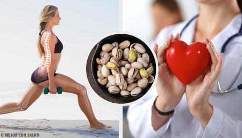 10 syytä syödä pistaasipähkinöitä