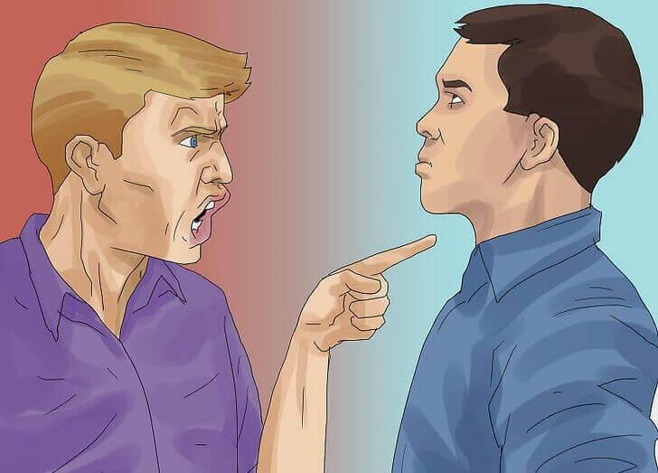 mies ei opi puolustautumaan kritiikiltä