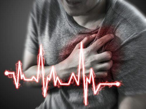 sydänvaivat ja epigastralgia