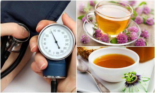 6 parasta yrttiä verenpaineen alentamiseksi
