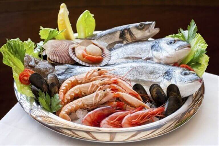 syö mereneläviä kilpirauhasen toiminnan parantamiseksi