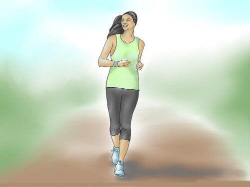 Kävelylenkki päivässä auttaa pysymään kunnossa