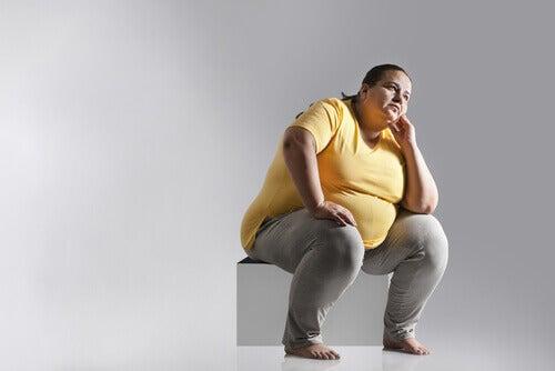 liikalihava nainen