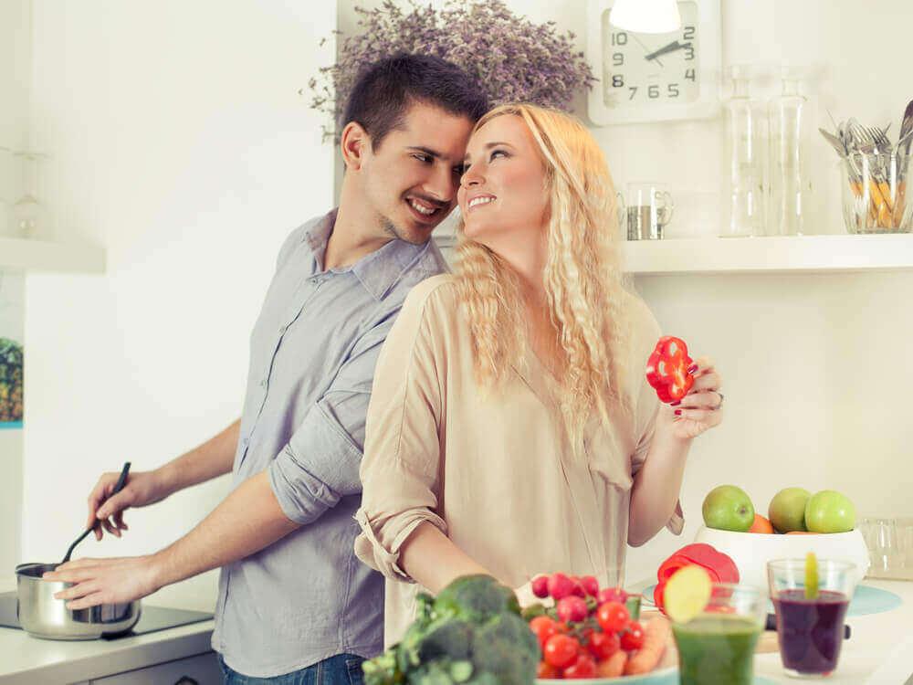 Kumppanin vietteleminen tulisi olla asia, jota ylläpidetään koko suhteen ajan.