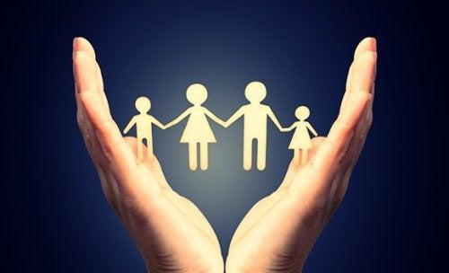 harmoninen perhe