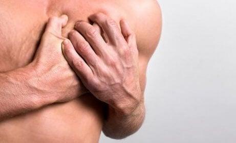 Rintakipu on epämiellyttävää tunnetta ja kipua rinnassa.