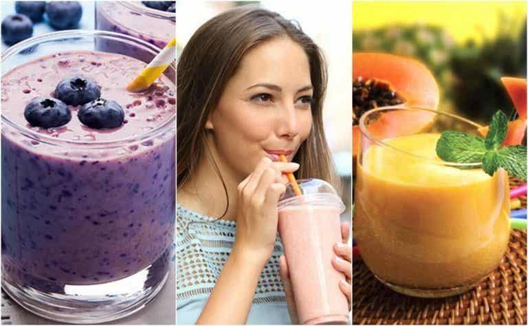 Terveelliset ja herkulliset aamupalasmoothiet