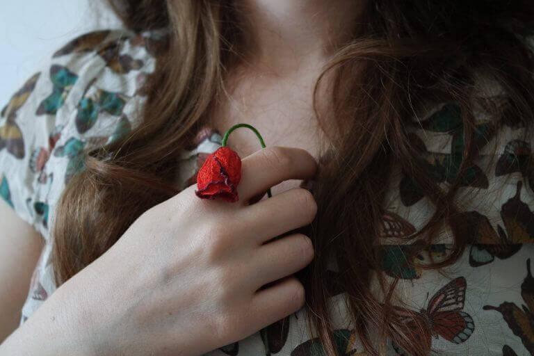 nuupahtanut ruusu