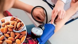 hoida alhaista verenpainetta manteleilla