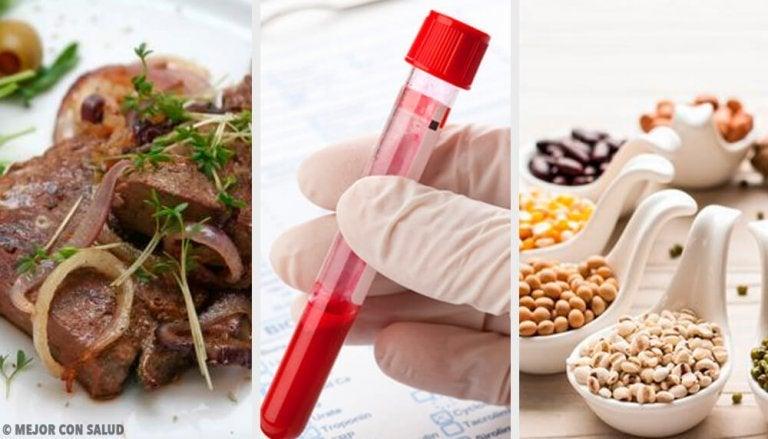 5 veren laatua parantavaa ruokaa