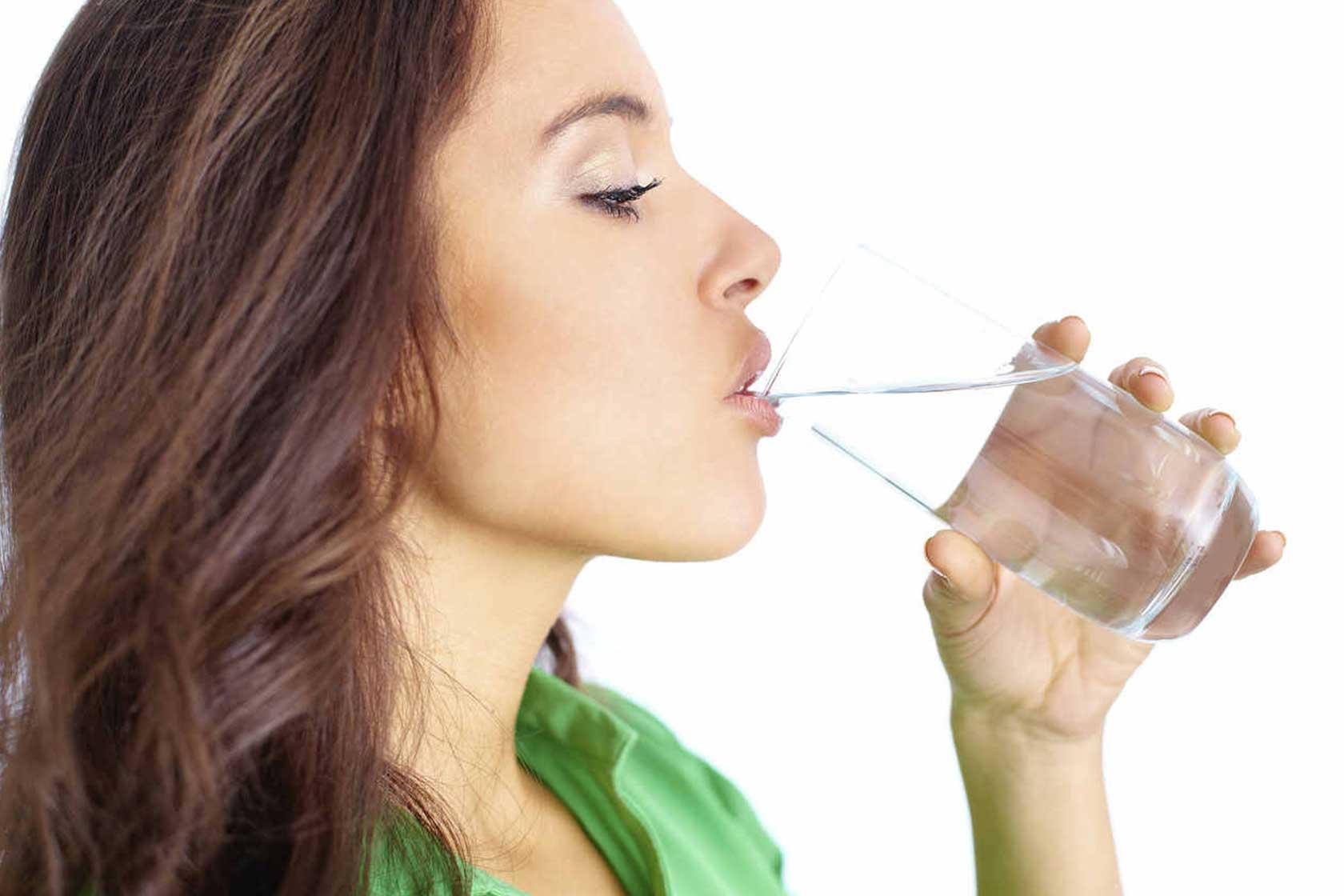 juo vettä, se on vastustuskykyä vahvistavaa