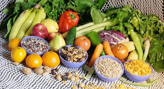 tuoreet hedelmät ja vihannekset