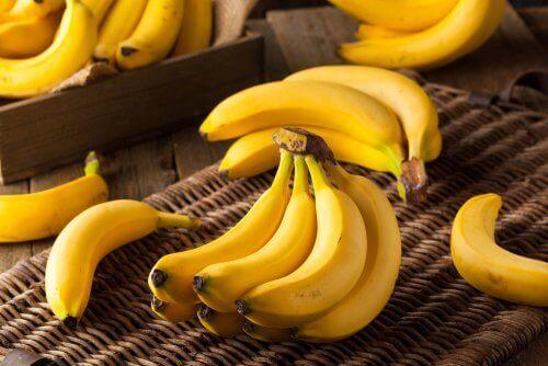 keltaiset banaanit