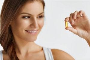 d-vitamiinia kapselin muodossa