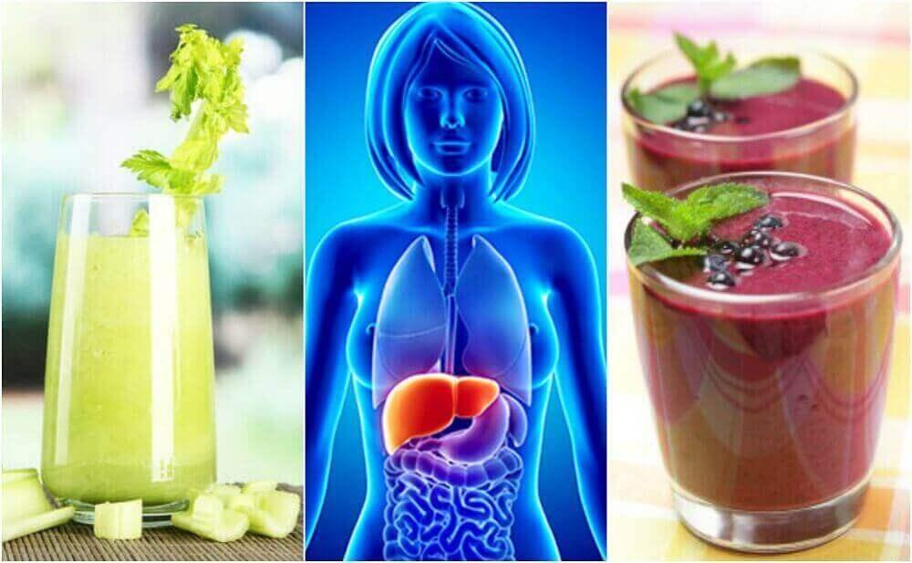7 ruokaa maksan ja haiman terveyden parantamiseksi