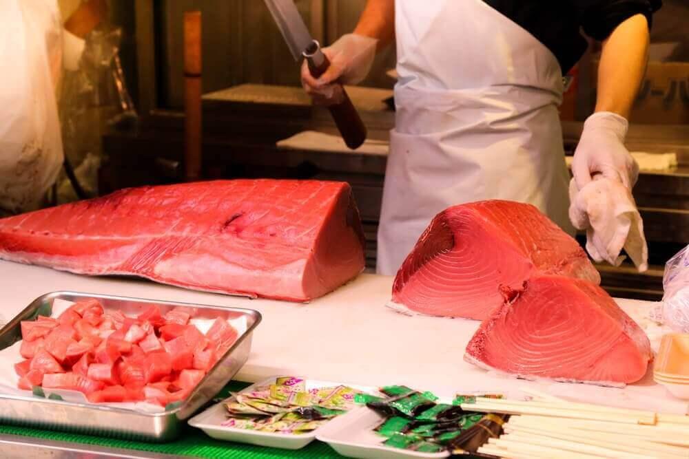 Punainen tonnikala voi olla terveydelle haitallista