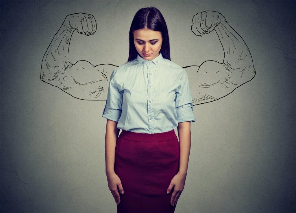 tytön psyykkinen vahvuus