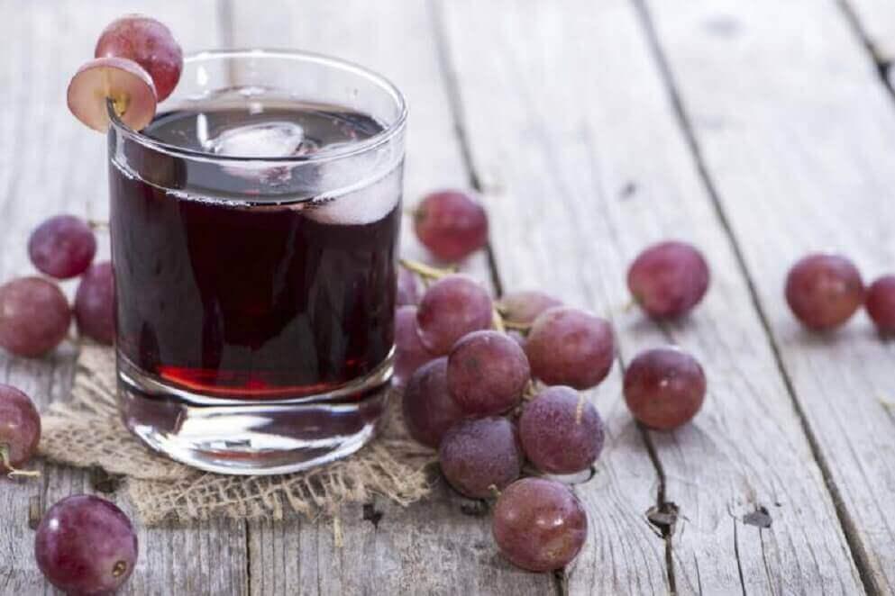 viinirypälemehua anemian hoitoon