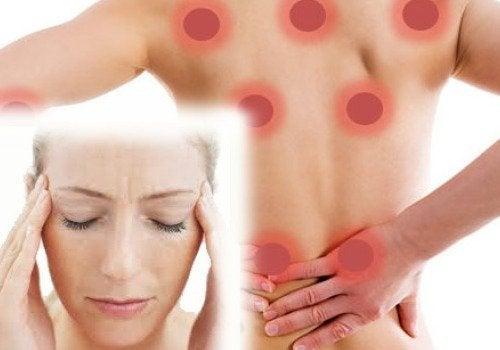 Fibromyalgiaa on neljää eri tyyppiä.
