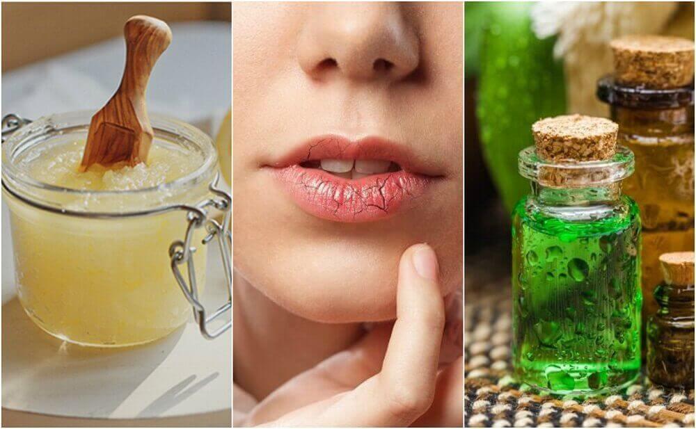Ehkäise ja hoida halkeilevia huulia