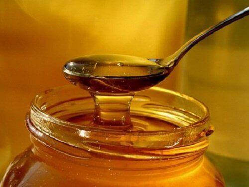 hunaja yskään lapsille