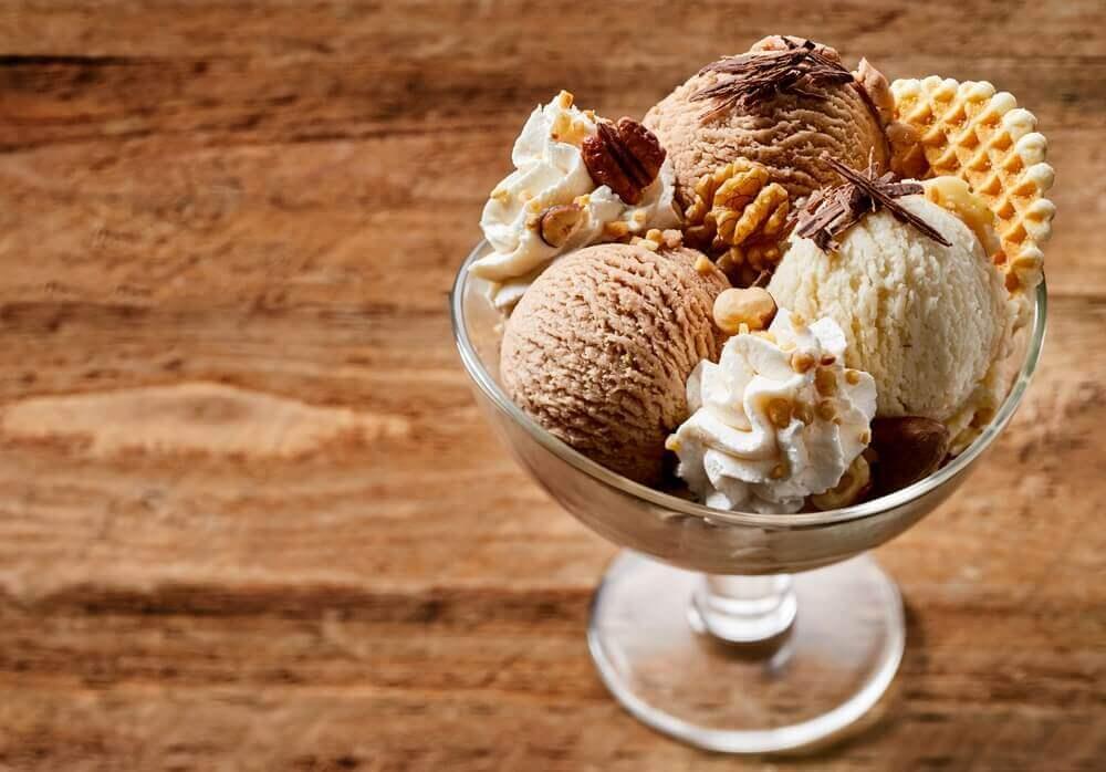 jälkiruokaa diabeetikoille jäätelöstä