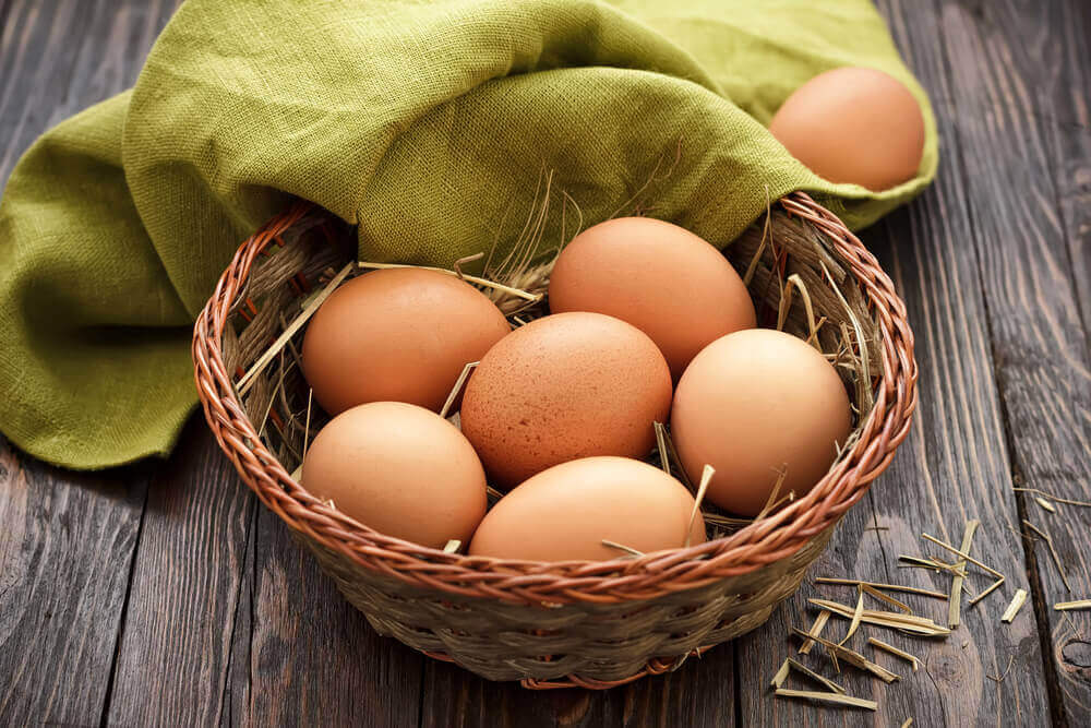 kananmunat parantamaan mielialaa
