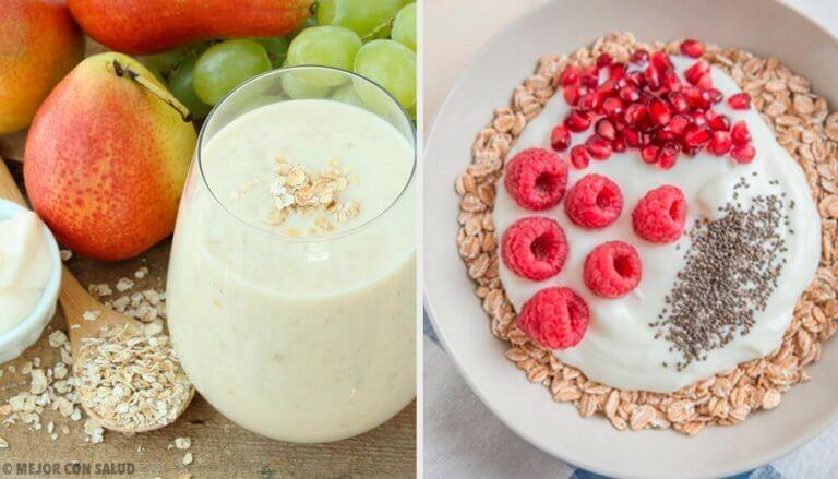 4 aamiaista kaurasta aineenvaihdunnan nopeuttamiseksi