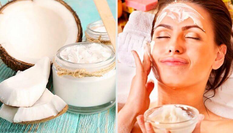 10 tapaa käyttää kookosöljyä kauneudenhoidossa