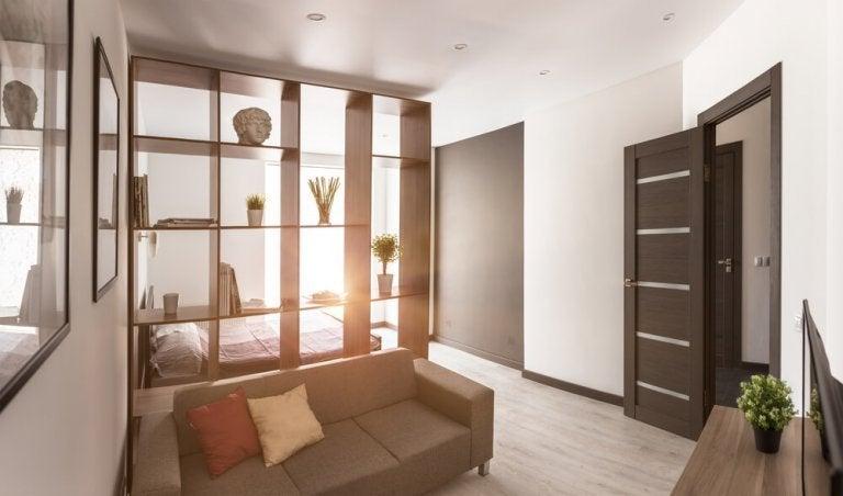 9 tyylikästä ratkaisua tilan jakamiseksi kotona