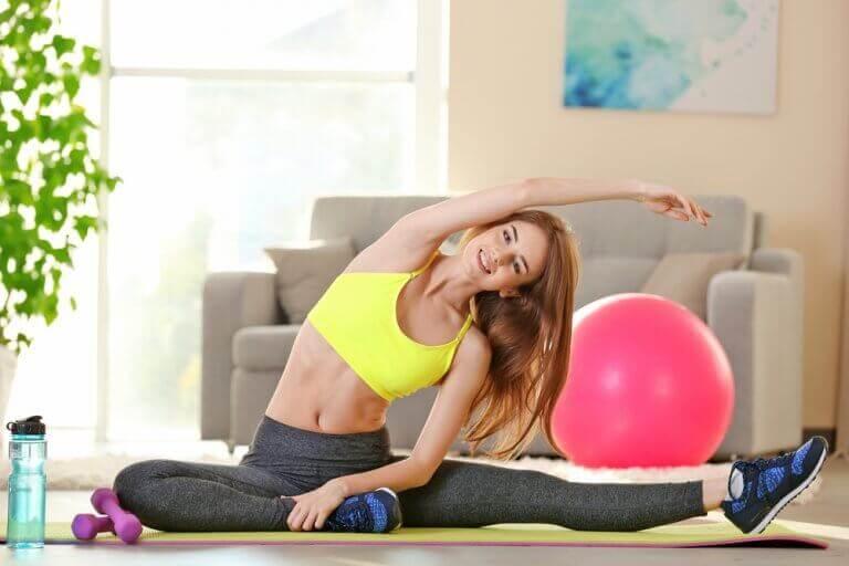 parhaita luontaishoitoja ahdistukseen: liikunta