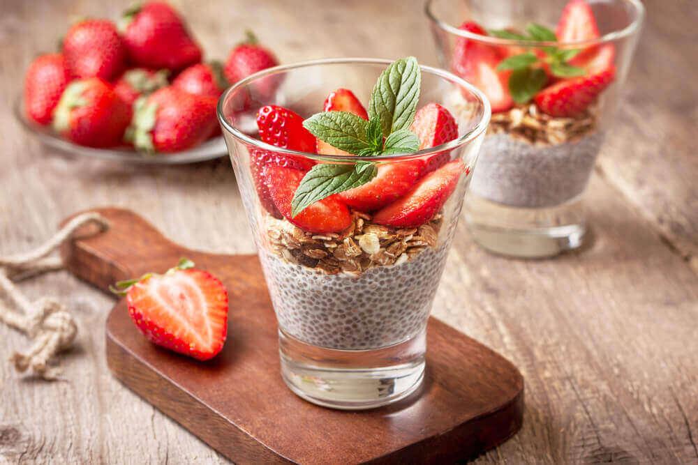 jälkiruokaa diabeetikoille mansikoista