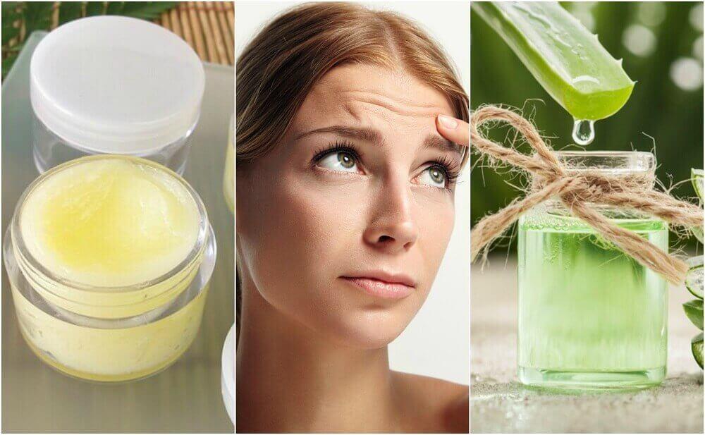 5 luonnollista hoitoa otsan juonteiden pehmentämiseksi