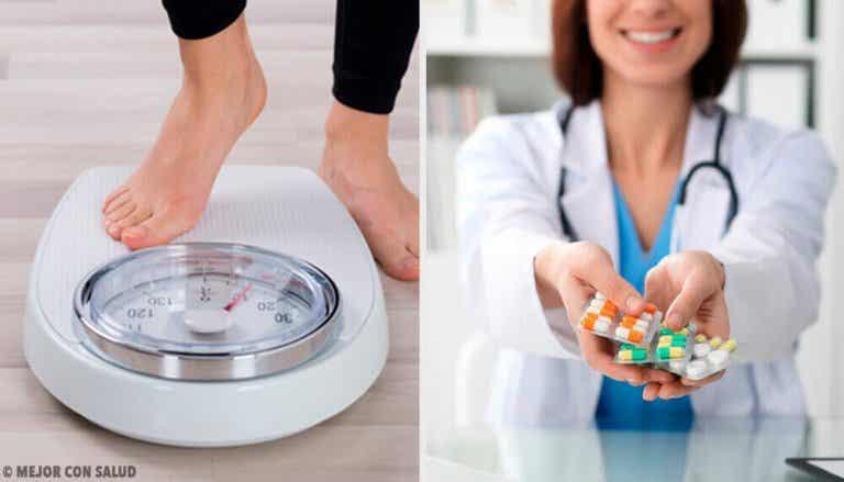 Mitkä lääkkeet voivat aiheuttaa painonnousua?