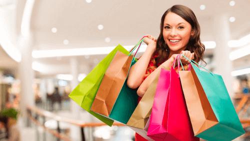 viikonlopun rutiinit: shoppailu