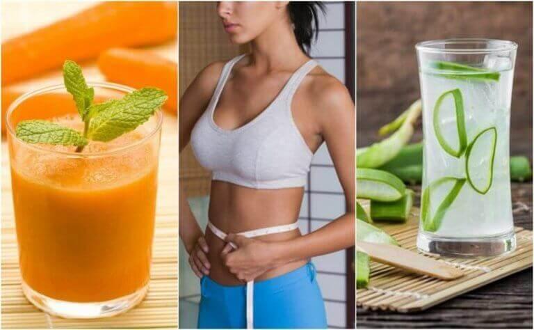 5 mehua vatsan hoikistamiseksi