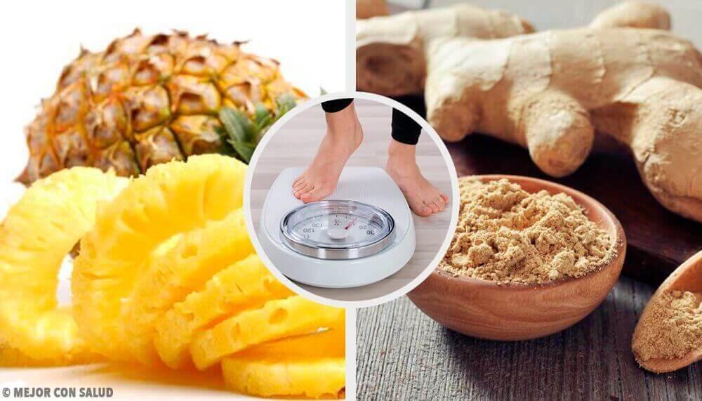 Laihduta tämän ananas-inkiväärismoothien avulla