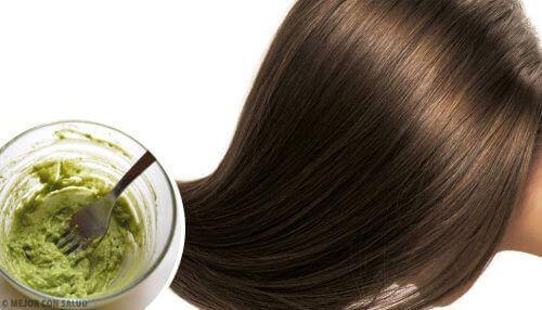 kosteuta hiuksesi luonnollisella hoitoaineella