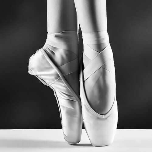 balettitanssijan jalat