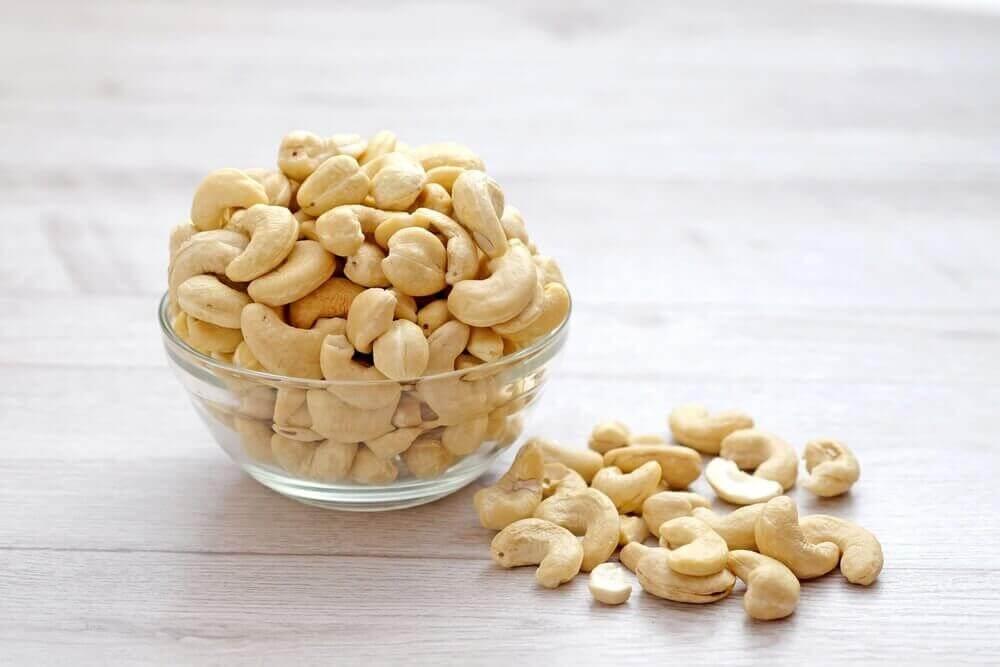 puupähkinöitä: cashew