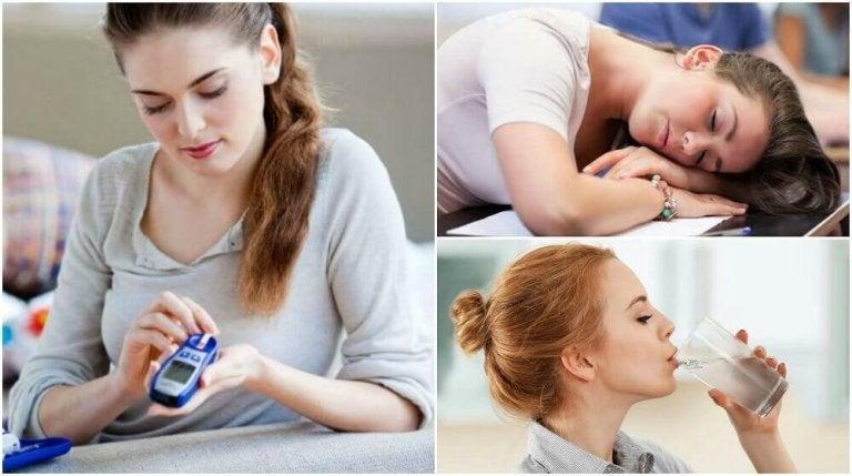 8 diabeteksen alkuvaiheen oiretta
