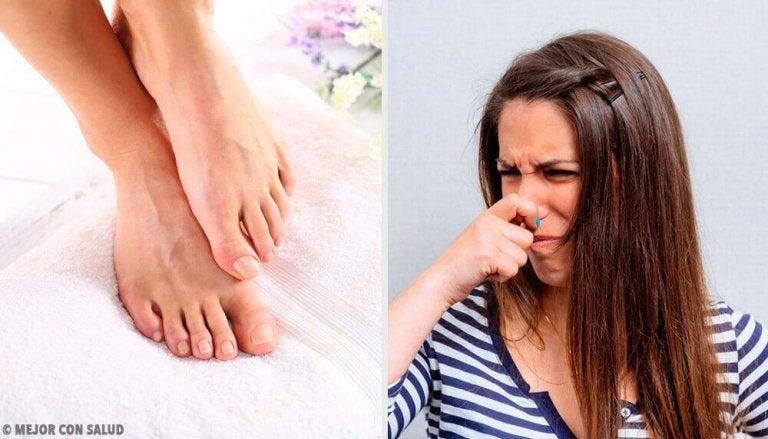 11 tapaa päästä eroon jalkojen pahasta hajusta
