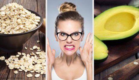 hermostusta ja ahdistusta lievittäviä ruokia