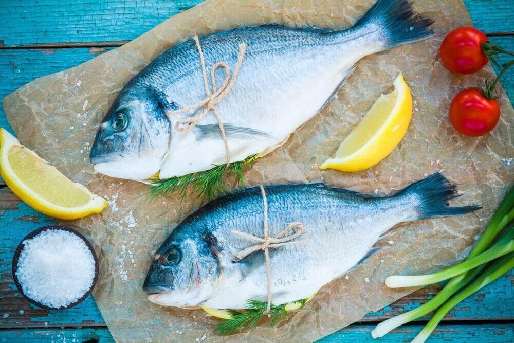 tuoretta kalaa