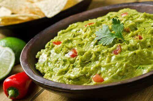 Kokeile tätä herkullista guacamole-reseptiä
